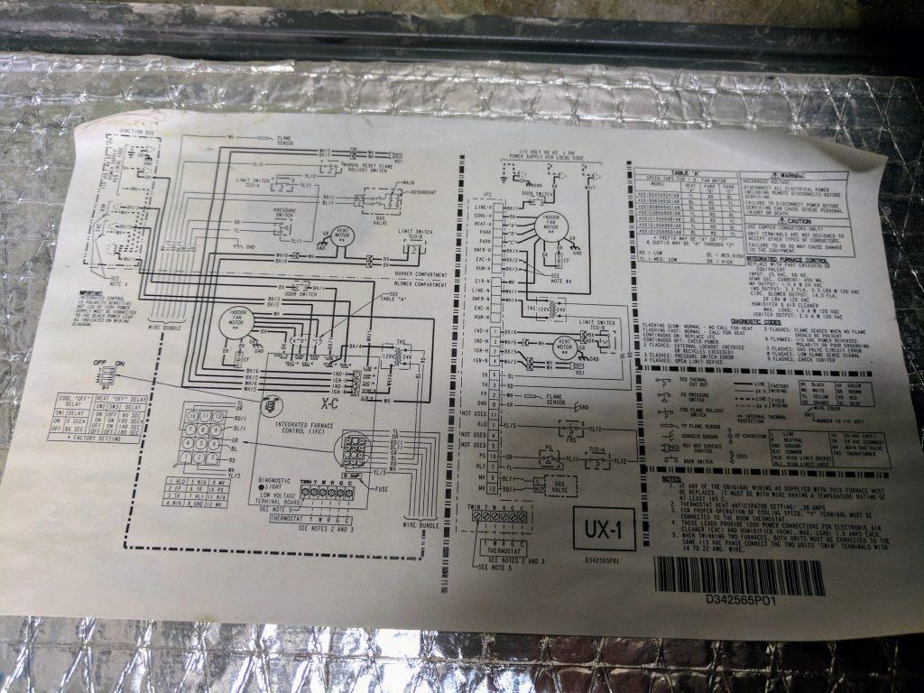 Trane Xr90 Furnace  U2013 No Heat  Solved   U2013 Blog Jseaber Com