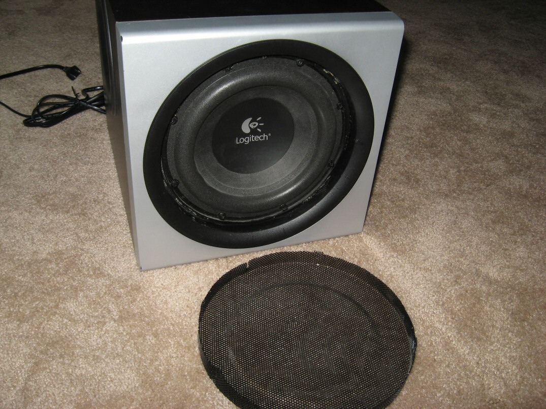 Logitech Z-2300 Subwoofer Disassembly